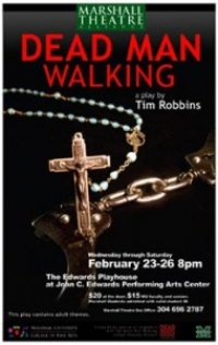 Marshall University Theatre to present Tim Robbins' 'Dead Man Walking'