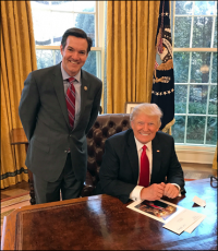 Rep. Jennings Joins President for Bill Signing Ceremony