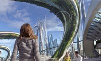 """Disney's Utopian  """"Tomorrowland"""" Visually Awesome, Mysterious, Imaginative; Climax Somewhat Caves"""