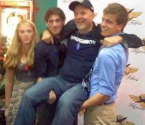 Doughboy Cast at Pullman autograph party