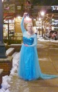 "Assertively Unique WV  Cosplaying Artist Reflects  Traits of  ""Frozen's"" Elsa  and Catwoman Characters"