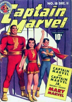 "DC and Marvel will battle in 2019 over ""Captain Marvel""  a.k.a. Ms. Marvel, Shazam"