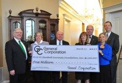 Marshall Receives $1 Million Dollar Donation