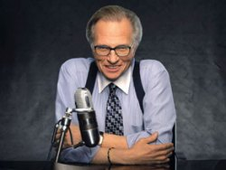 Larry King (Coutesy CNN)