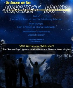 """Rocket Boys: The Musical"" Added to Theatre WV Season"