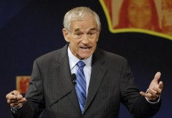 Ron Paul at Earlier Presidential Debate