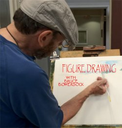 Figure Drawing Classes at Watercolor Dreams Gallery and Art School