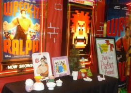 """Wreck it Ralph"" Display at Marquee Pullman in conjunction with Pottery Place. ""Ralph"" finished #2 behind ""Skyfall"""
