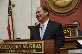 Gov. Tomblin Delivers State of the State Address
