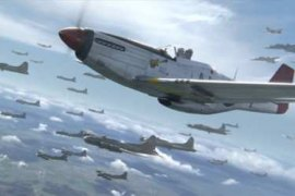 "Scene from ""Red Tails"""