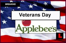 Applebee's Vets Day
