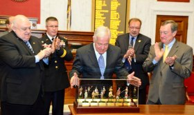 Rahall Receives Guard's Harry S Truman Award