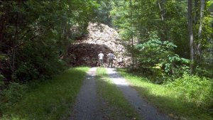 11-mile section of the Greenbrier River Trail reopens one year after June 2016 flood