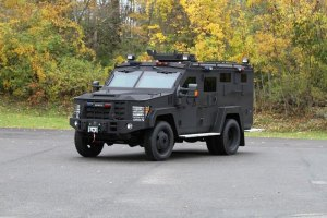 Huntington Police Department receives grant for armored vehicle