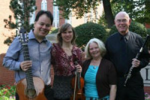 Julio Alves, Kristen Alves, Linda Dobbs and Wendell Dobbs will give a benefit concert Oct. 14 to assist music staff member Beverly McKinney with medical expenses.