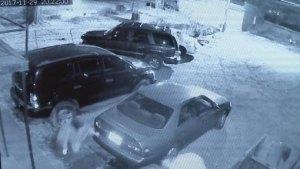 Surveillance Video Shows Fifth Avenue Shooting