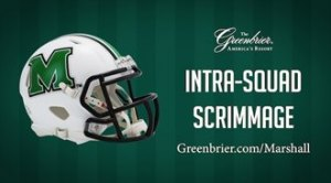 Greenbrier Hosting Intra-Squad Scrimmages for Marshall, WVU
