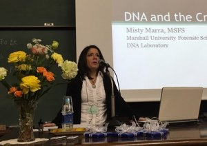 Forensic Science Center DNA analyst delivers training on DNA's role in sexual assault investigations