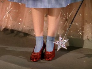 "Judy Garland from ""Wizard of Oz"" (c) MGM"