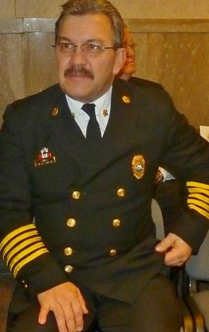 Fire Chief Carl Eastham