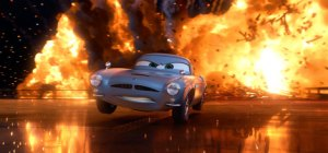 Scene from Cars