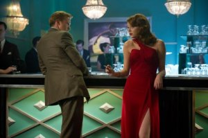 ": RYAN GOSLING as Sgt. Jerry Wooters and EMMA STONE as Grace Faraday in Warner Bros. Pictures' and Village Roadshow Pictures' drama ""GANGSTER SQUAD"