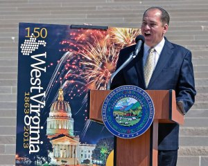 Governor Announces WV's 150th Birthday Celebration