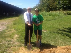 Ground Broken for Skate Park