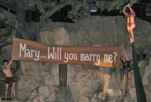 Tyce's Proposal to Mary