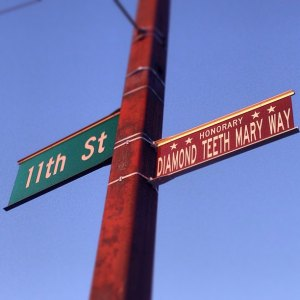 "Mayor to Proclaim ""Diamond Teeth Mary Way"" on Friday"