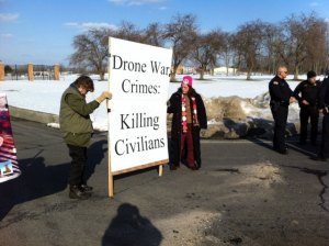 Nine Brave People Arrested Blocking Gate to Hancock Drone Murder Base in Upstate NY