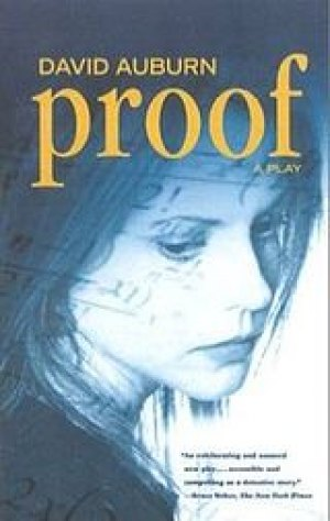 """Logo from Broadway Production of """"Proof"""""""