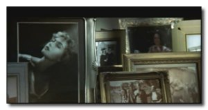 "Kate displays her life memories everywhere she sleeps in this scene from ""Titanic"" (c) Paramount/20th Century Fox."