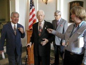One of Sen. Byrd's last visits to VA Hospital, Huntington.