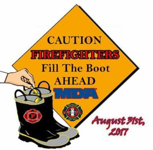 Fire Department Boot Drive Thursday