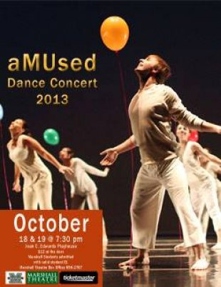 Amused Dance Concert Oct. 18-19