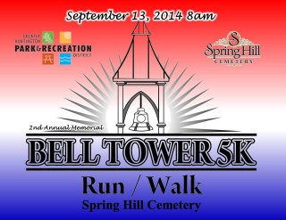 Bell/Tower Run Walk September 13