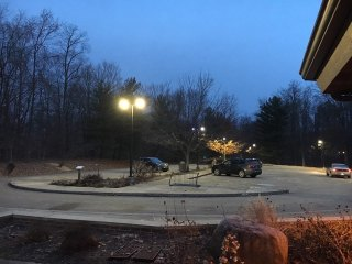 Alum Creek parking repairs