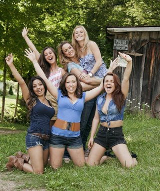 "Cast of Gals in ""Buckwild"""