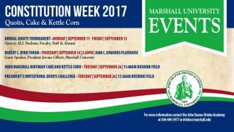 Annual Constitution Week activities kick off next week