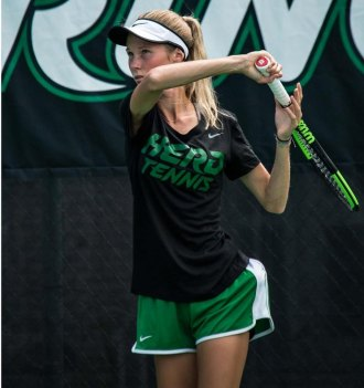 Tennis Completes Opening Day at Liberty Invitational