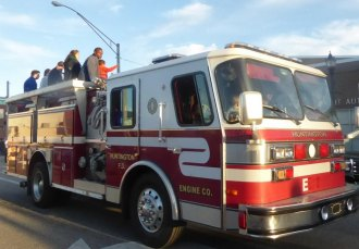 Huntington Fire Department Narrowly Rejects Contract