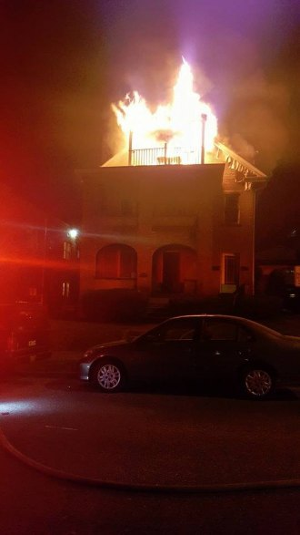 Two Huntington Blazes Overnight