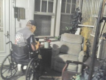 Thieves Steal Huntington Veteran's Wheel Chair