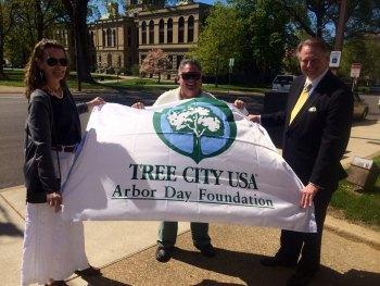 Arbor Day Celebration Friday in Huntington
