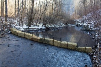 This Is What It Looks Like When 100,000 Gallons Of Coal Waste Spills Into A West Virginia Stream