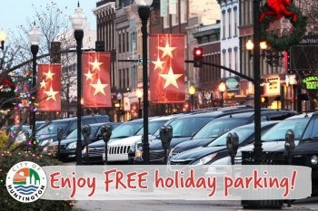 Huntington Offering Free Holiday Parking Days
