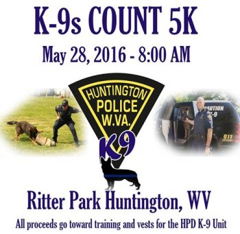 Walk to Support Huntington Police K-9 Officers