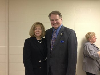 Mayor Williams at MU food pantry dedication