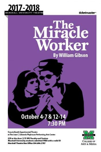 "MU Kicks off Theatre Season with ""Miracle Worker"""